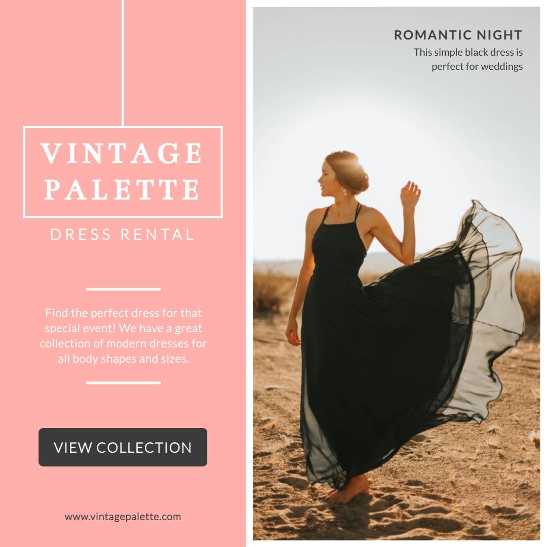Vintage Palette - Instagram Post Template