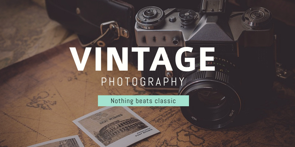 Vintage Photography Template
