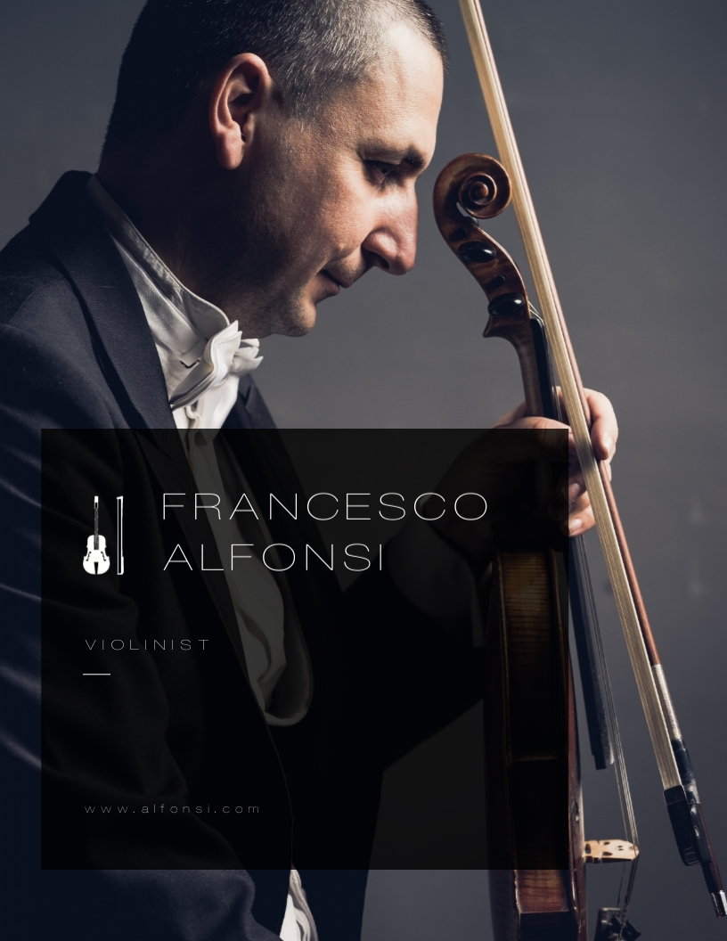 Violinist Press - Kit Template