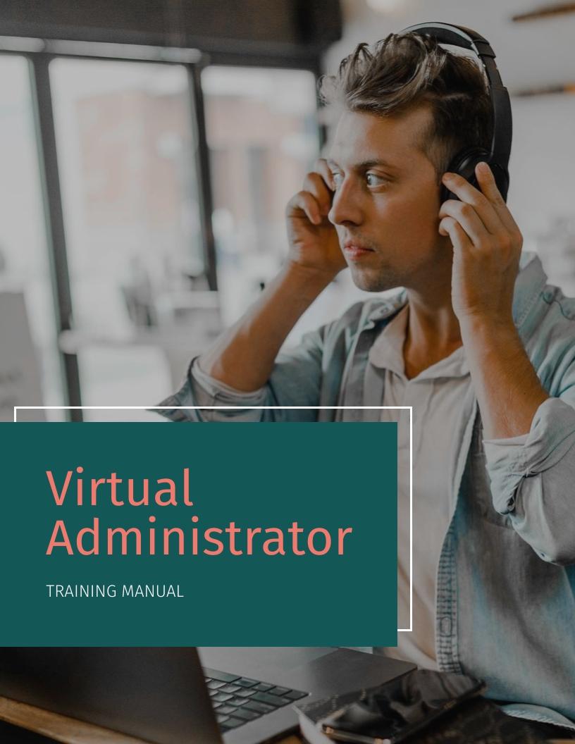 Virtual Administrator - Training Manual Template