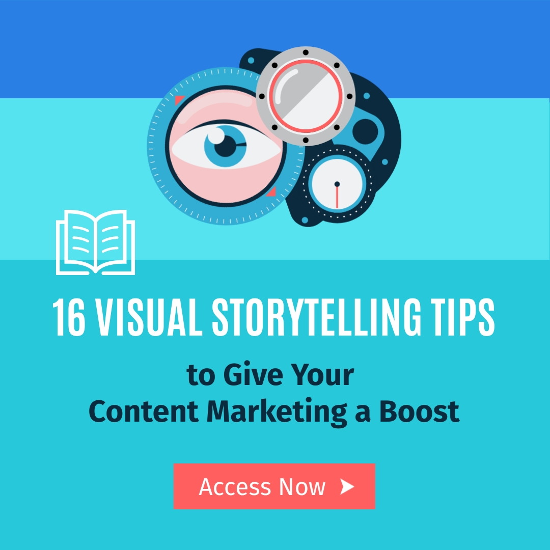 Visual Storytelling Tips Square Template