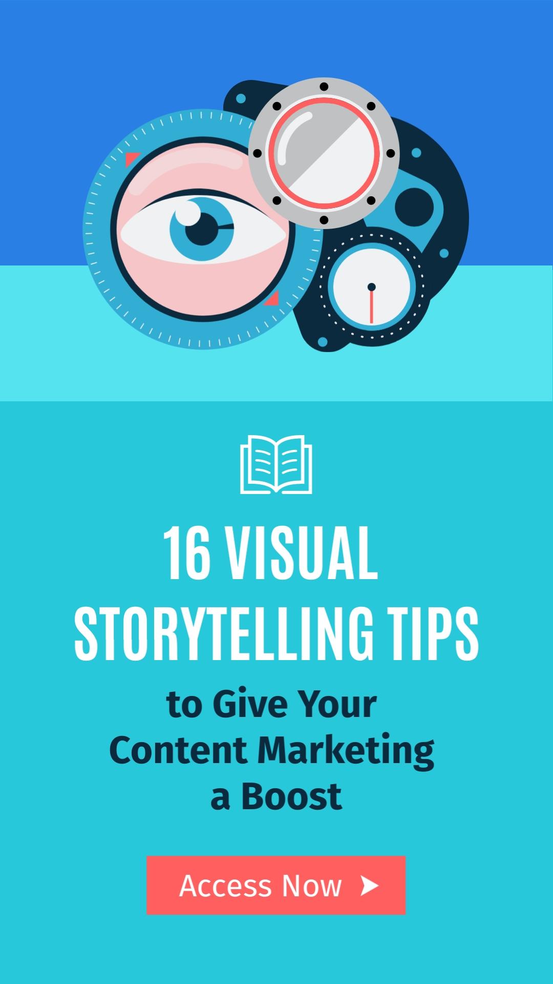 Visual Storytelling Tips Vertical Template