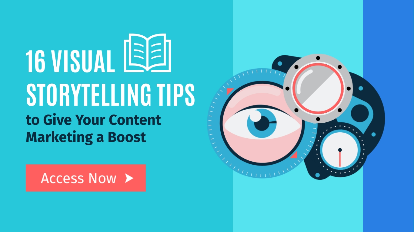 Visual Storytelling Tips Wide Template