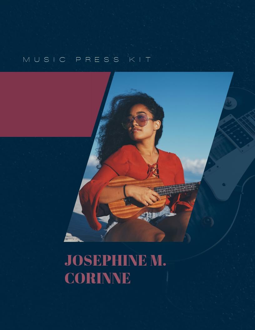 Vocalist Music - Press Kit Template