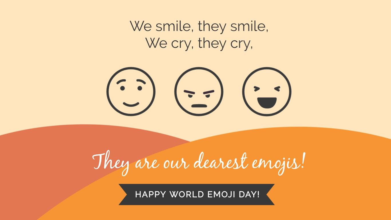 We Smile Emoji Animated Wide Template