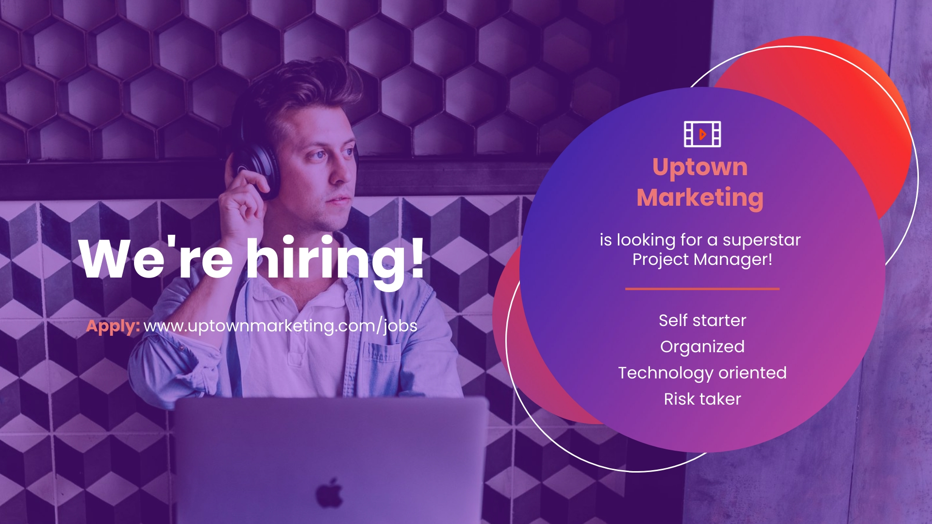 We are Hiring - YouTube Video Ad Template