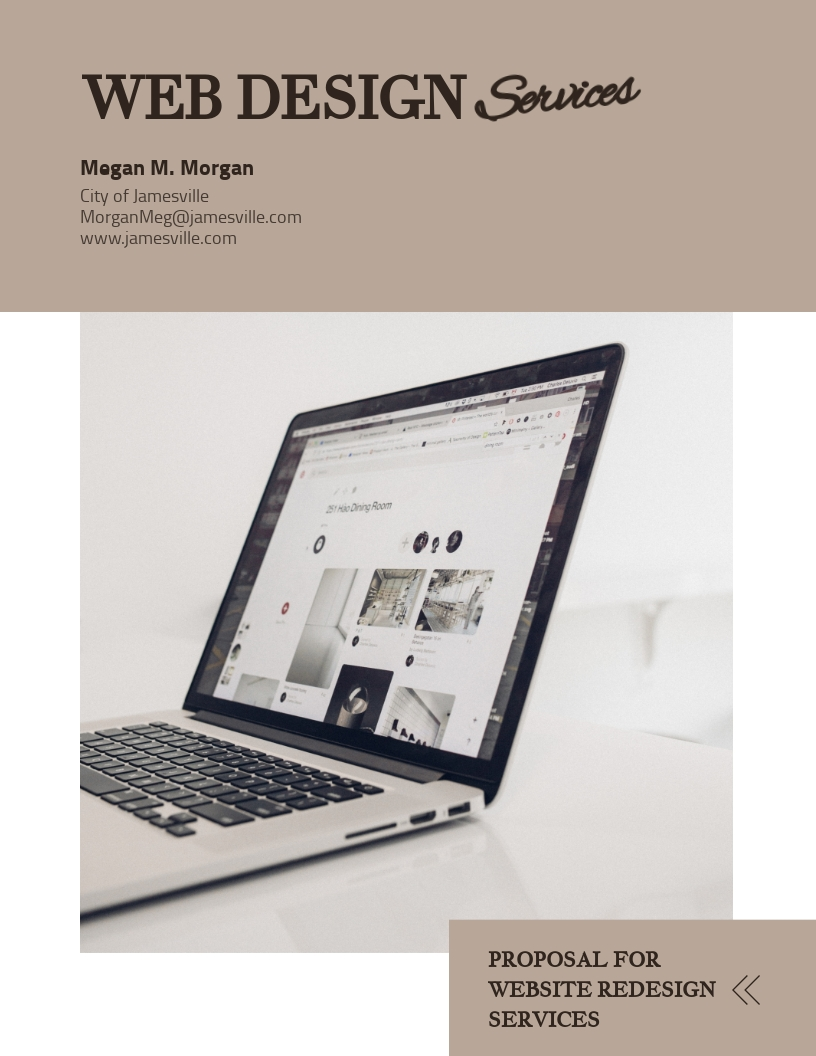 Web Design - Proposal Template
