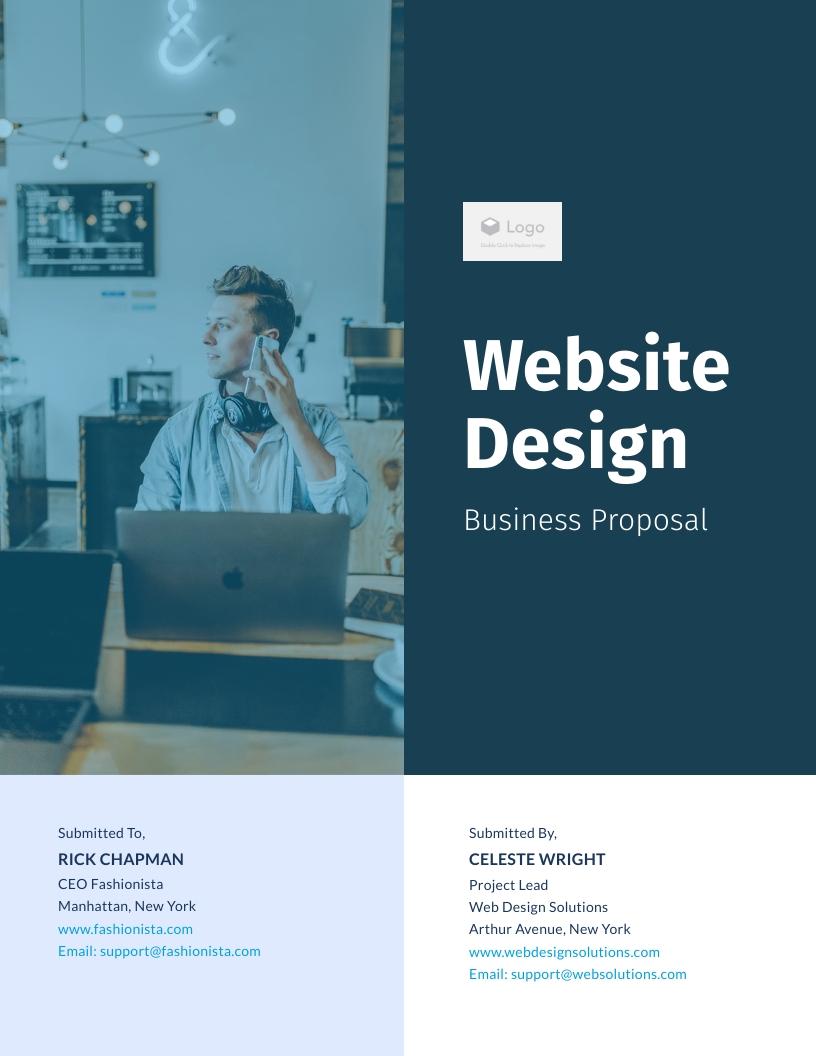 Website Design Business - Proposal Template