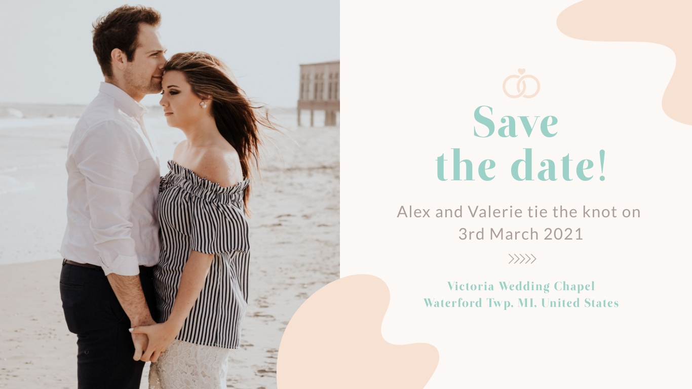 Wedding Facebook Event Cover Template