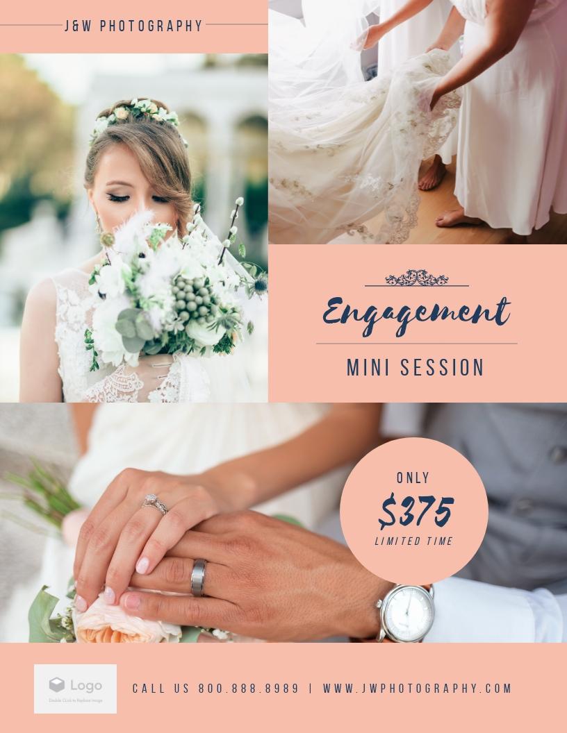 Wedding Photos - Flyer Template