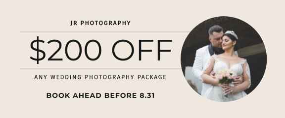 Wedding Photoshoot Coupon Template