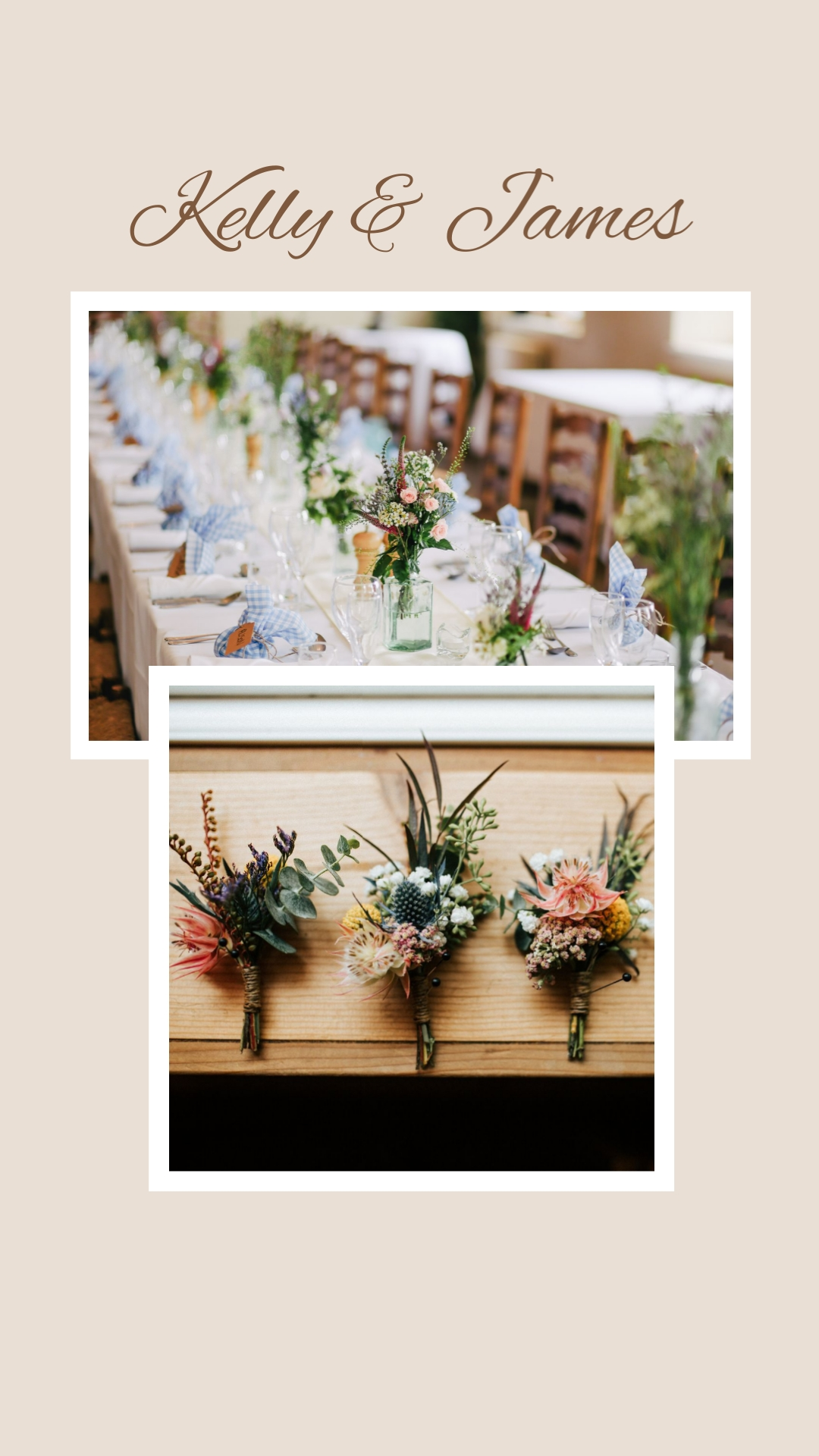 Wedding Planner Instagram Stories Template