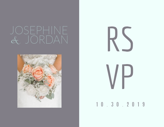 Wedding - Postcard Template