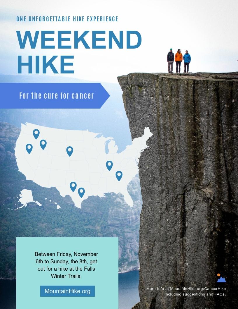 Weekend Hike - Flyer Template