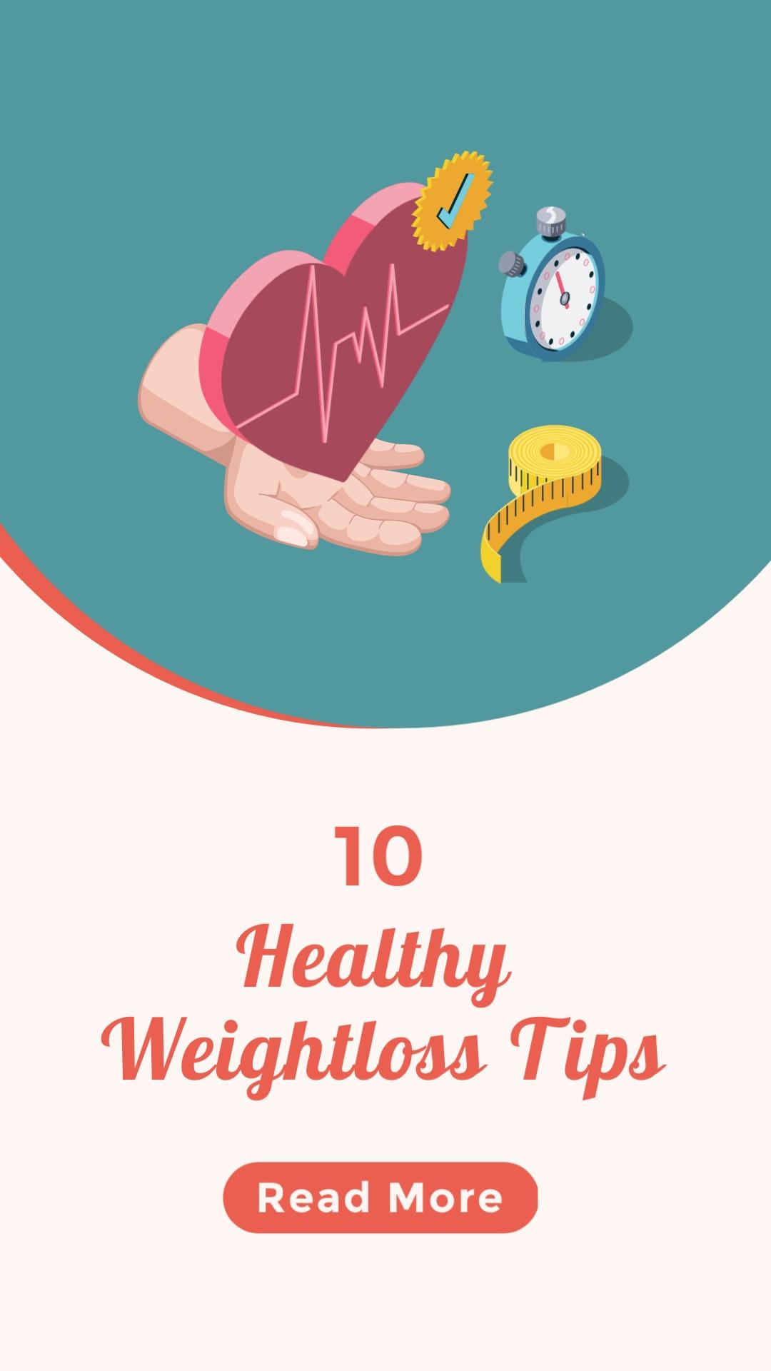 Weightloss Tips Vertical Template