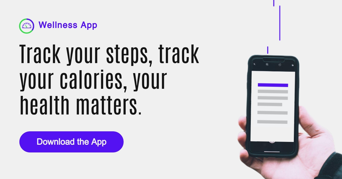 Wellness App LinkedIn Sponsored Content Template