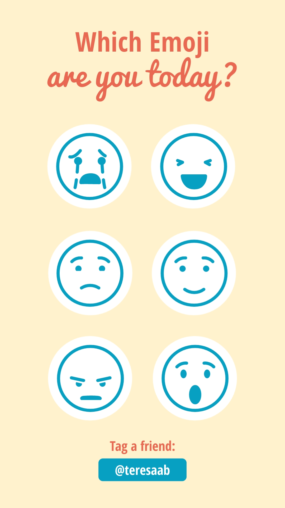 Which Emoji Are You Animated Vertical Template