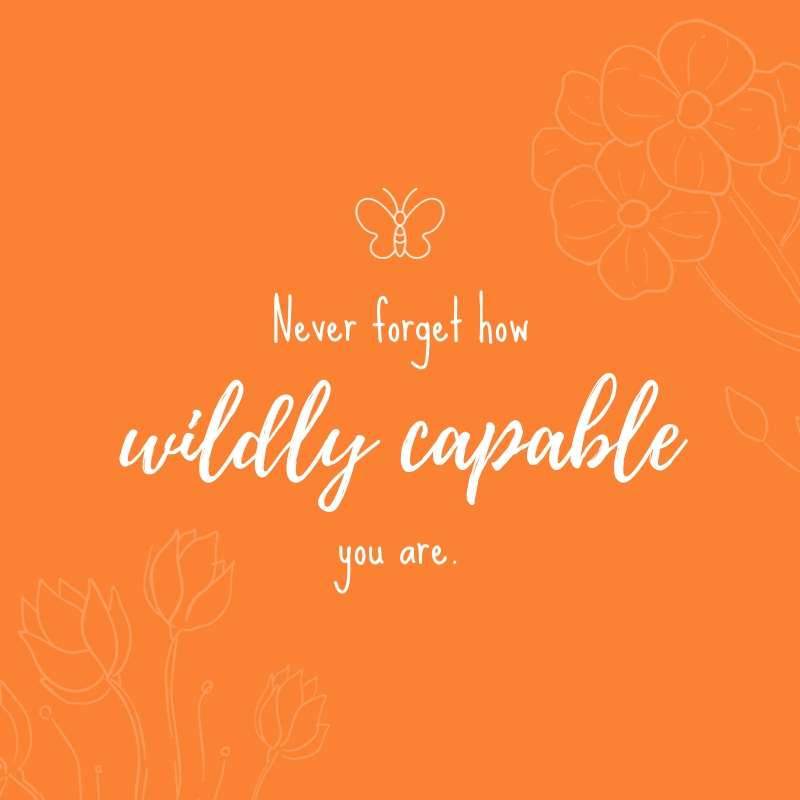 Wildly Capable Blog Graphic Medium  Template