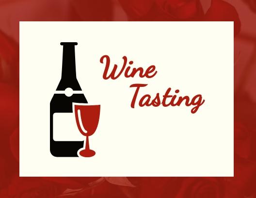 Wine Tasting - Postcard Template