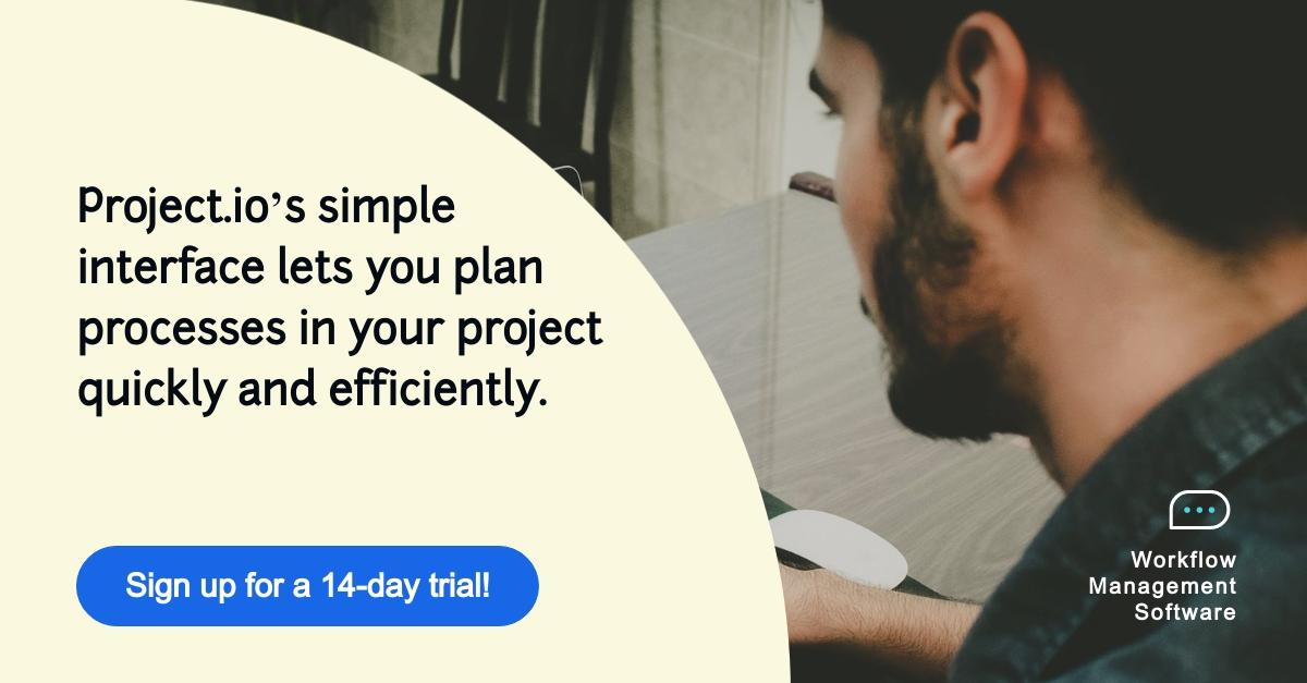 Workflow Management Software - LinkedIn Ad Template
