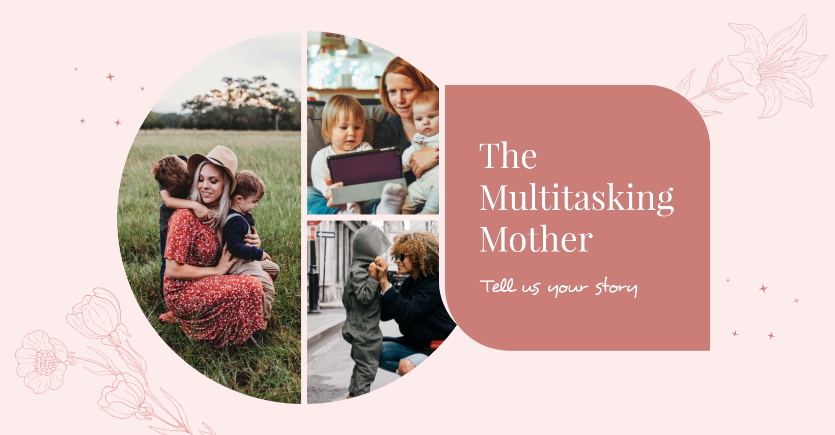 Working Moms Facebook Group Cover Template