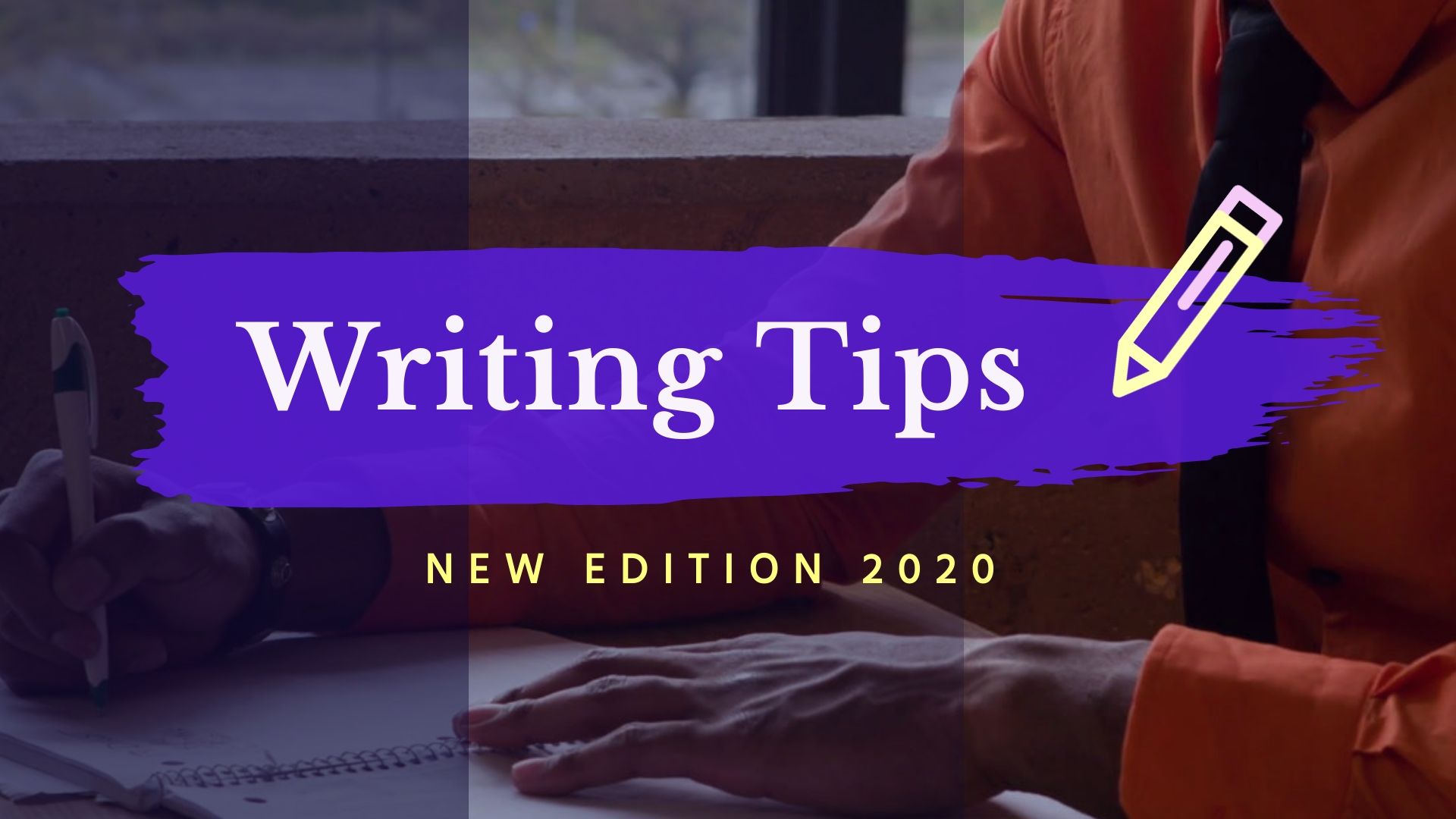 Writing Tips Intro - Video Template