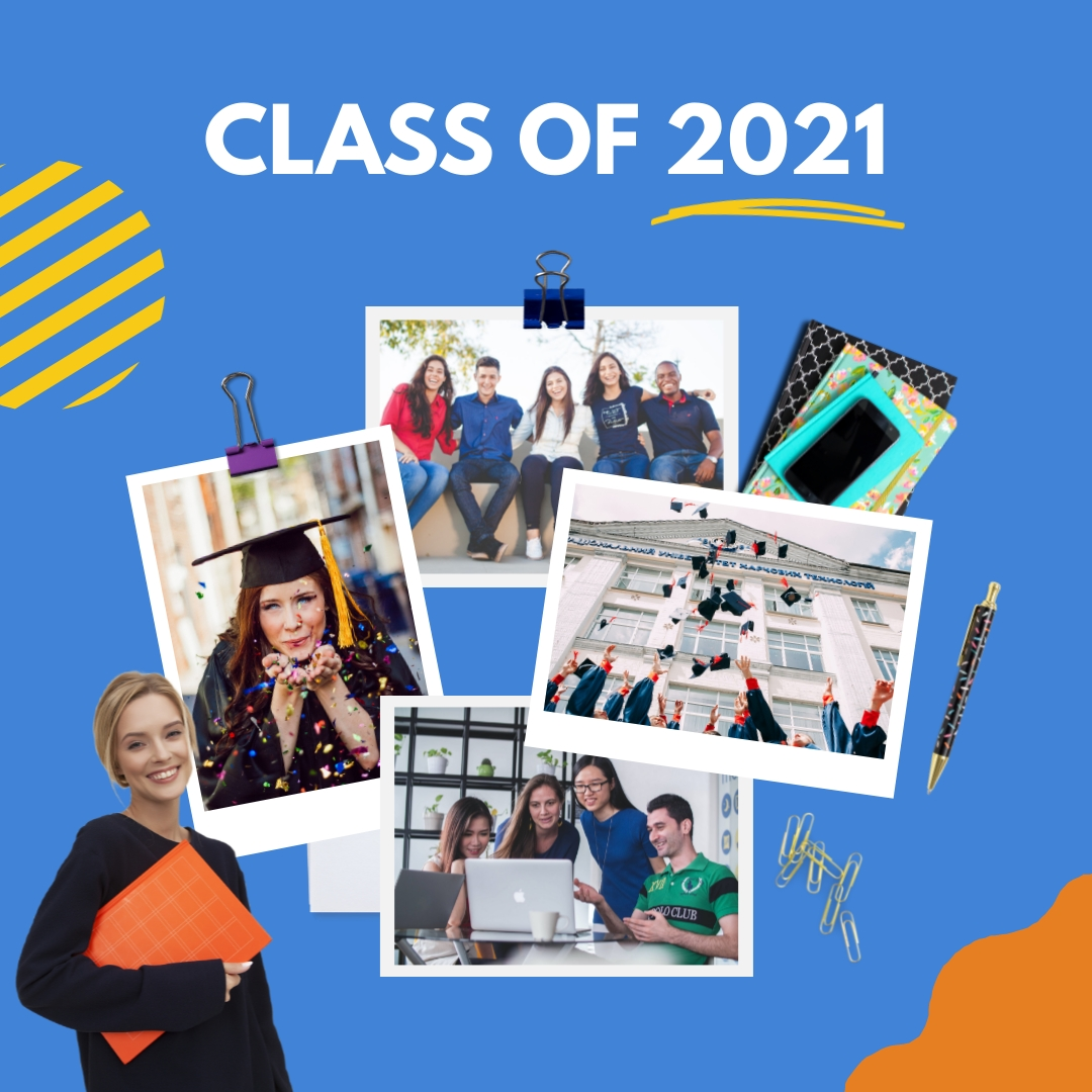 Yearbook Collage Template