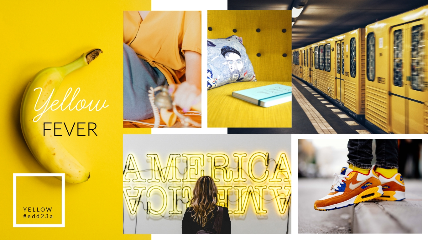Yellow Fever Moodboard Template