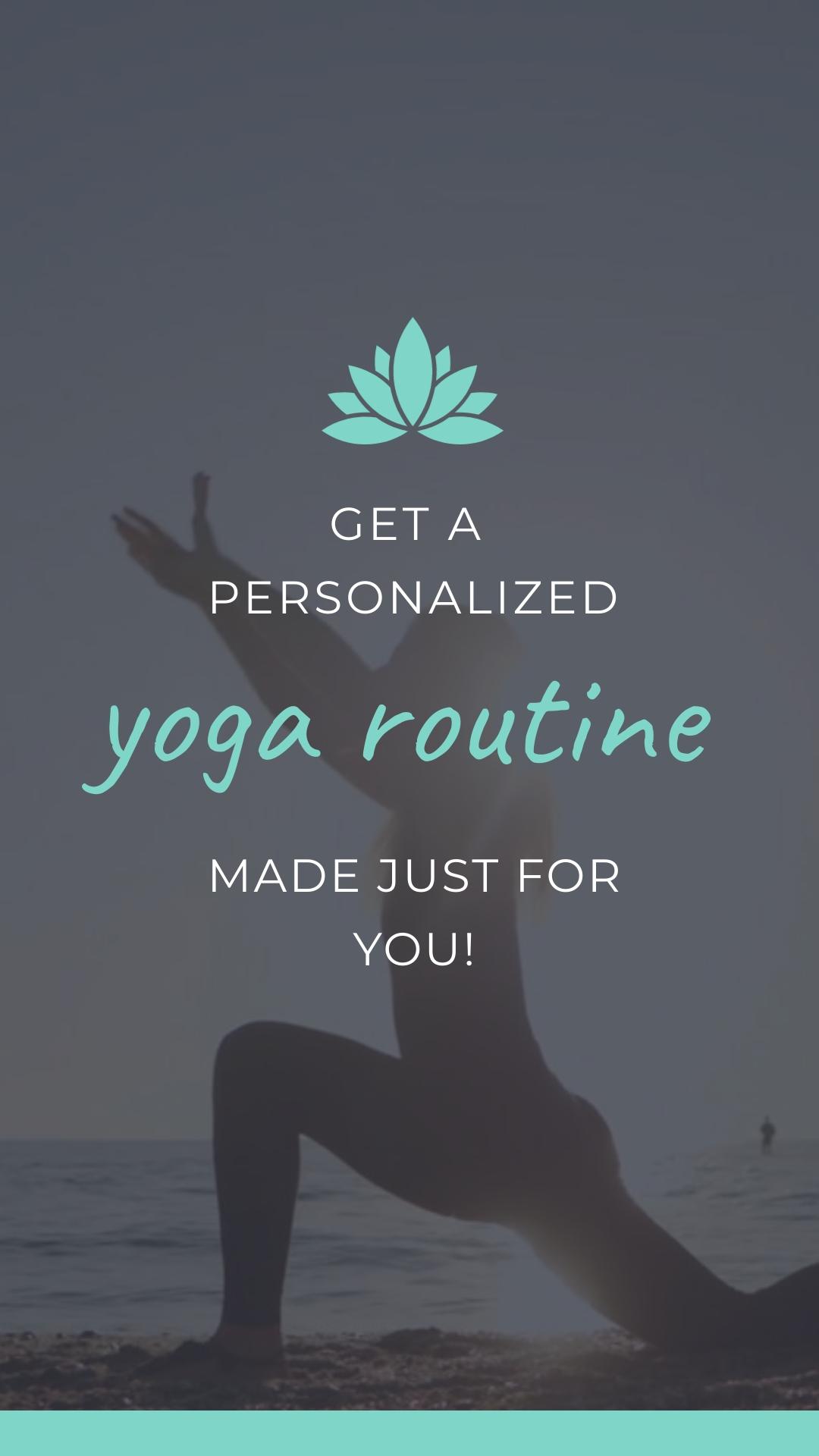 Yoga App - Instagram Video Ad Template