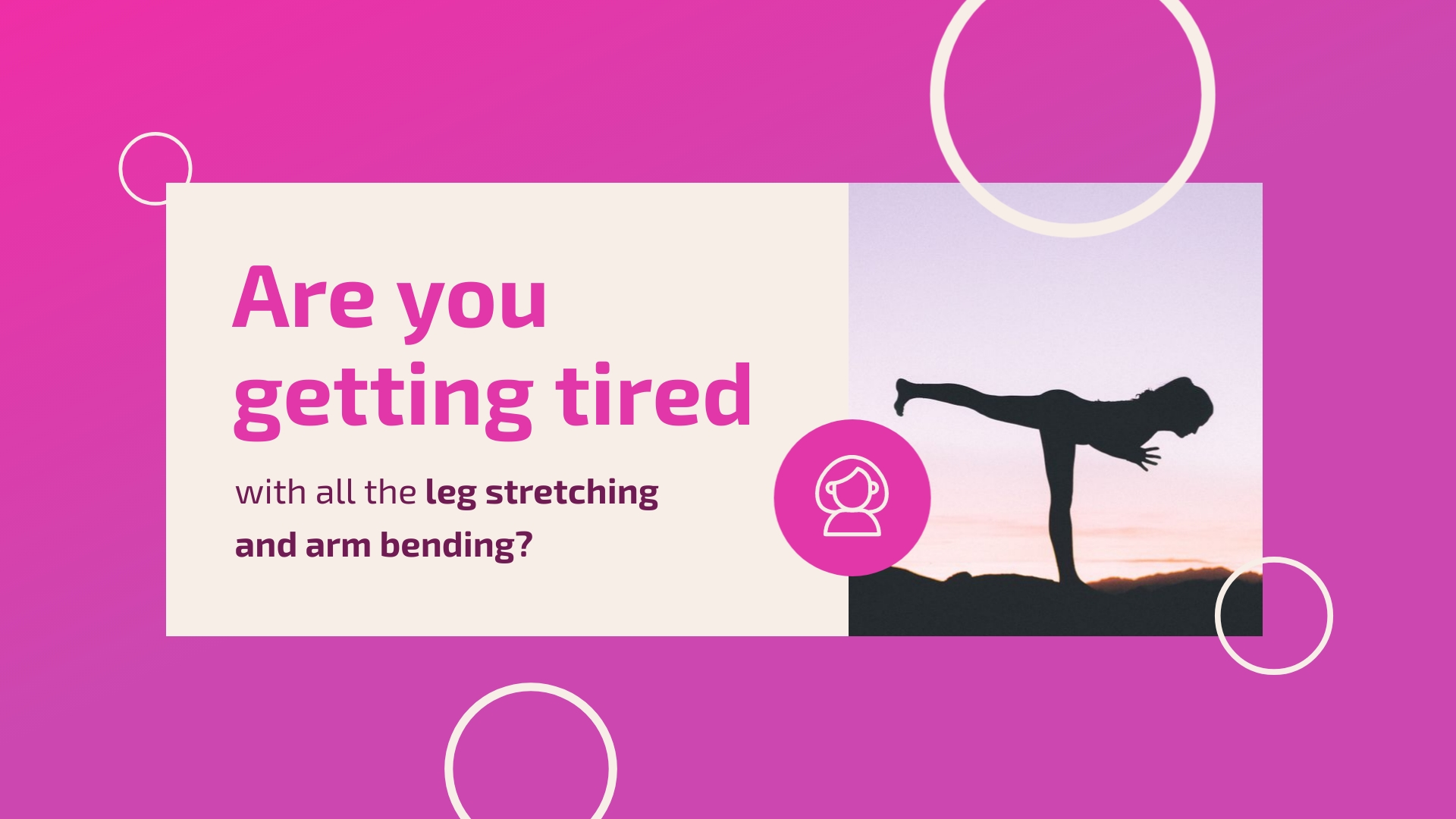 Yoga Instructor - YouTube Video Ad Template