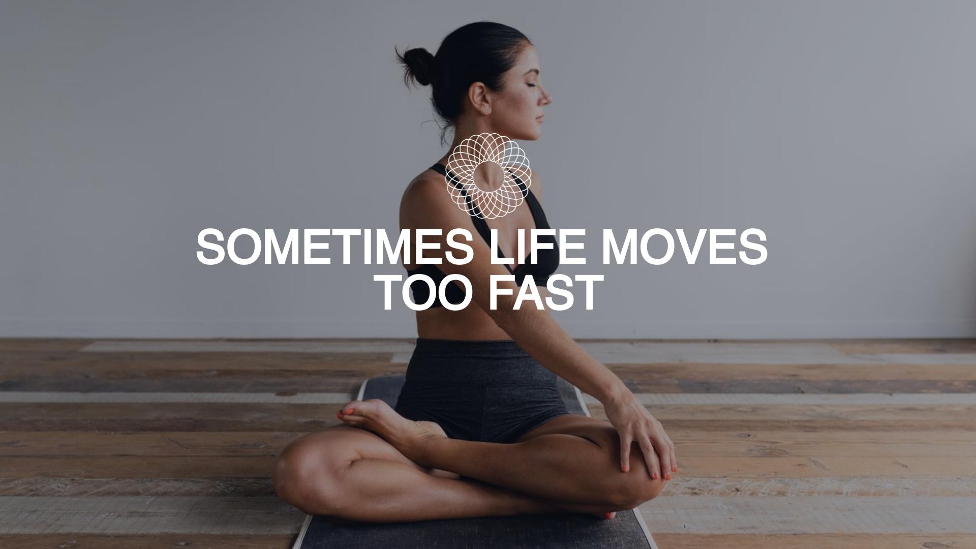 Yoga Retreat Facebook Video Ad Template