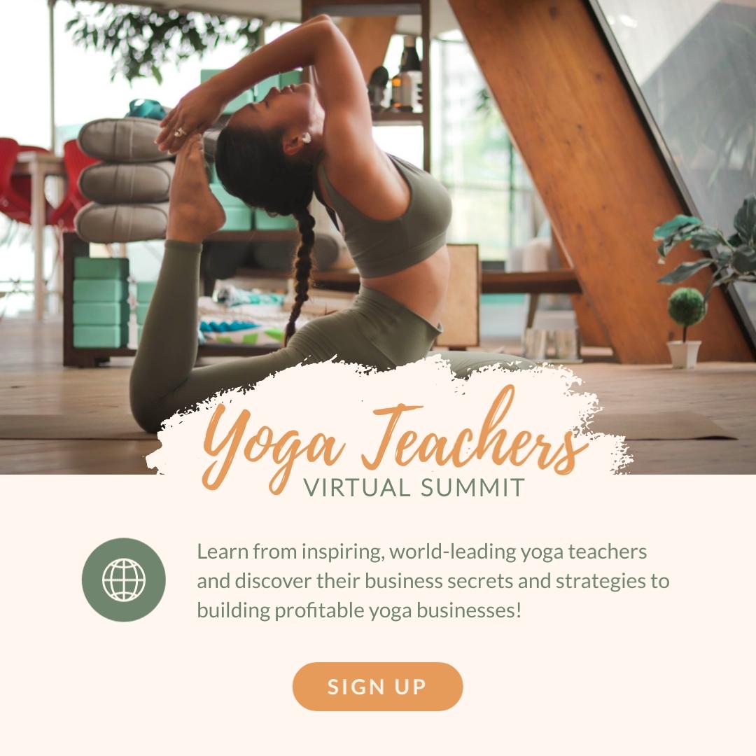 Yoga Teachers Virtual Summit Animated Square Template
