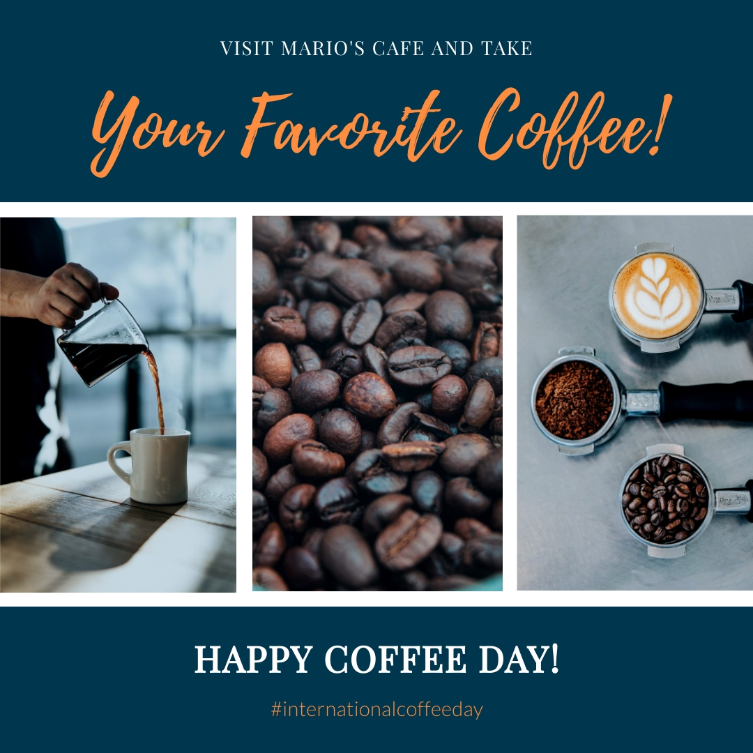 Your Favorite Coffee Animated Square Template