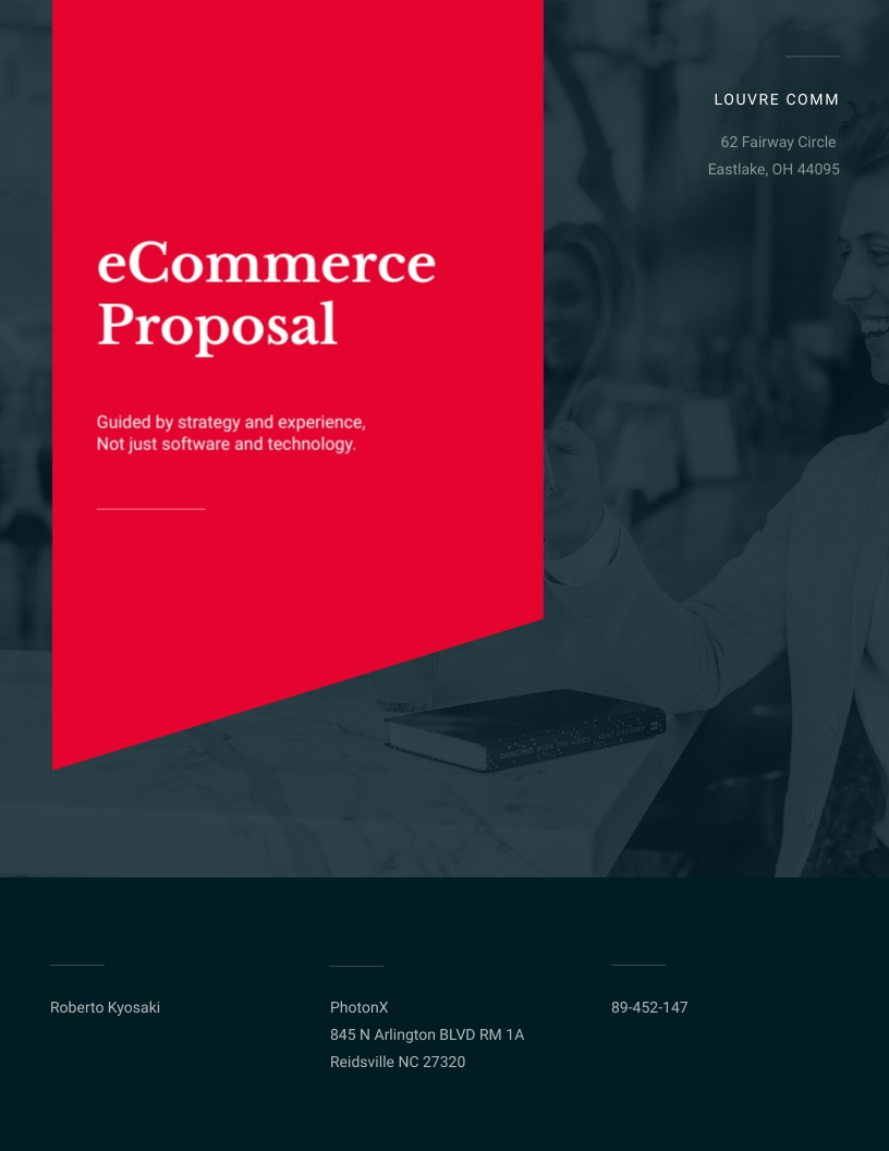 eCommerce - Proposal Template