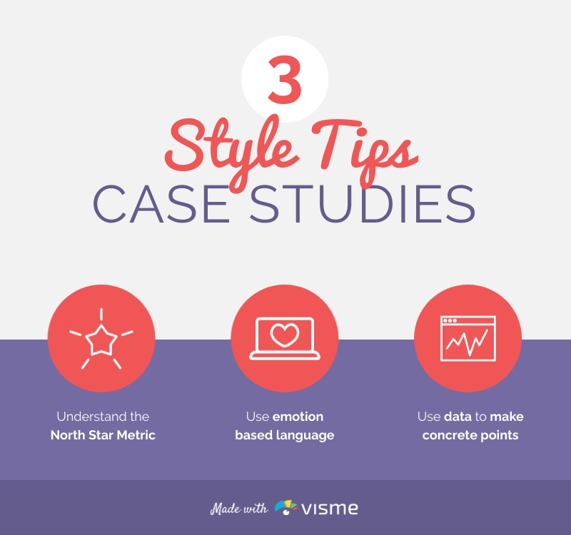3 Style Tips For Case Studies - Infographic Template