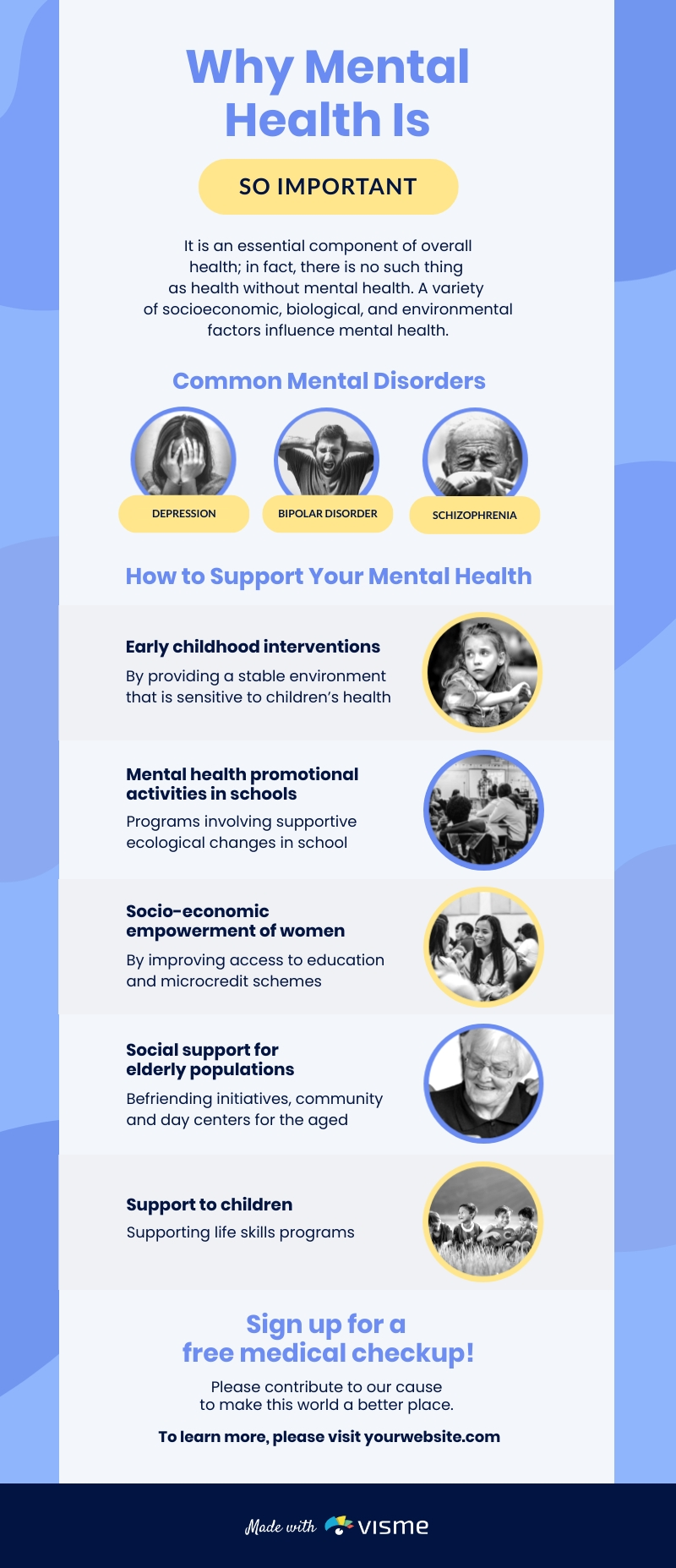 Boosting Mental Health Infographic Template