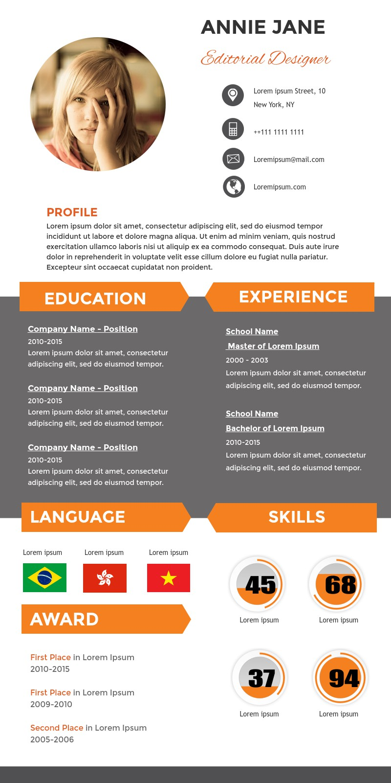 design thinking test infographic template