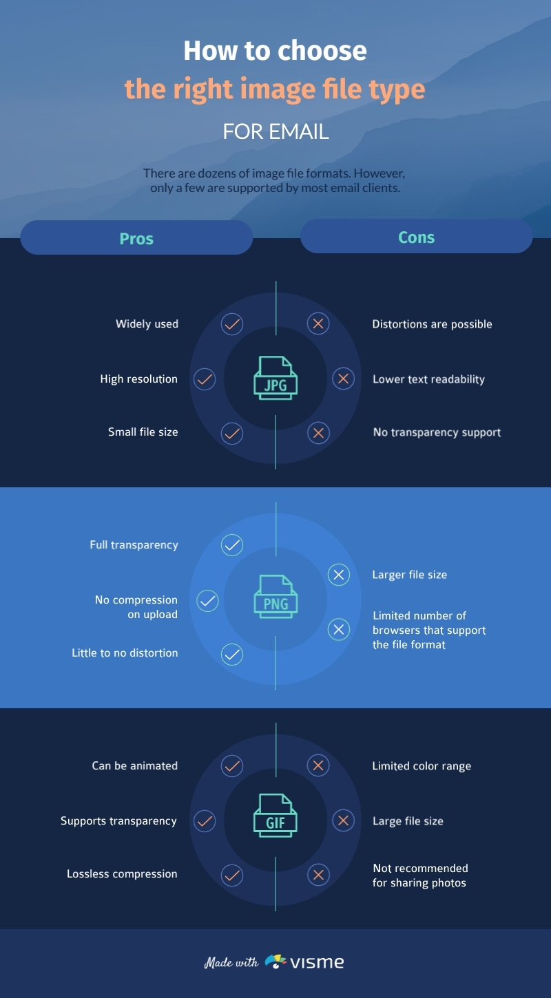 Image File Type - Infographic Template