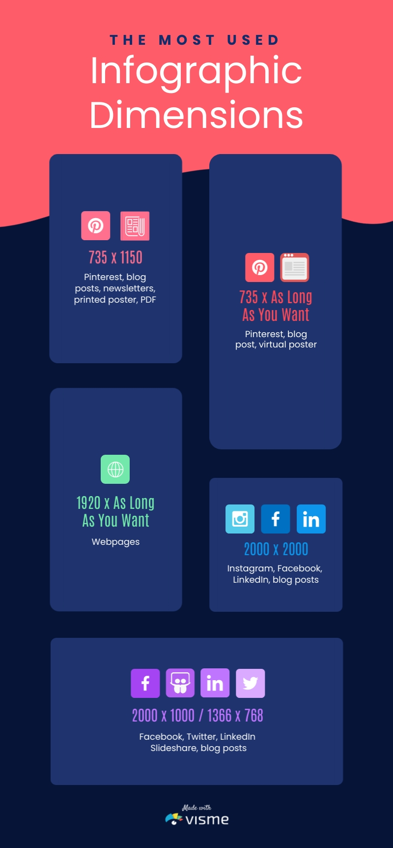 Infographic Dimensions - Infographic Template
