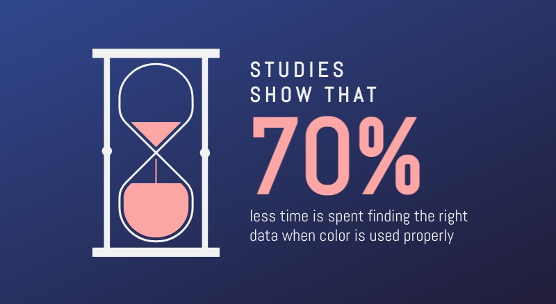 Time and Colors - Infographic Template