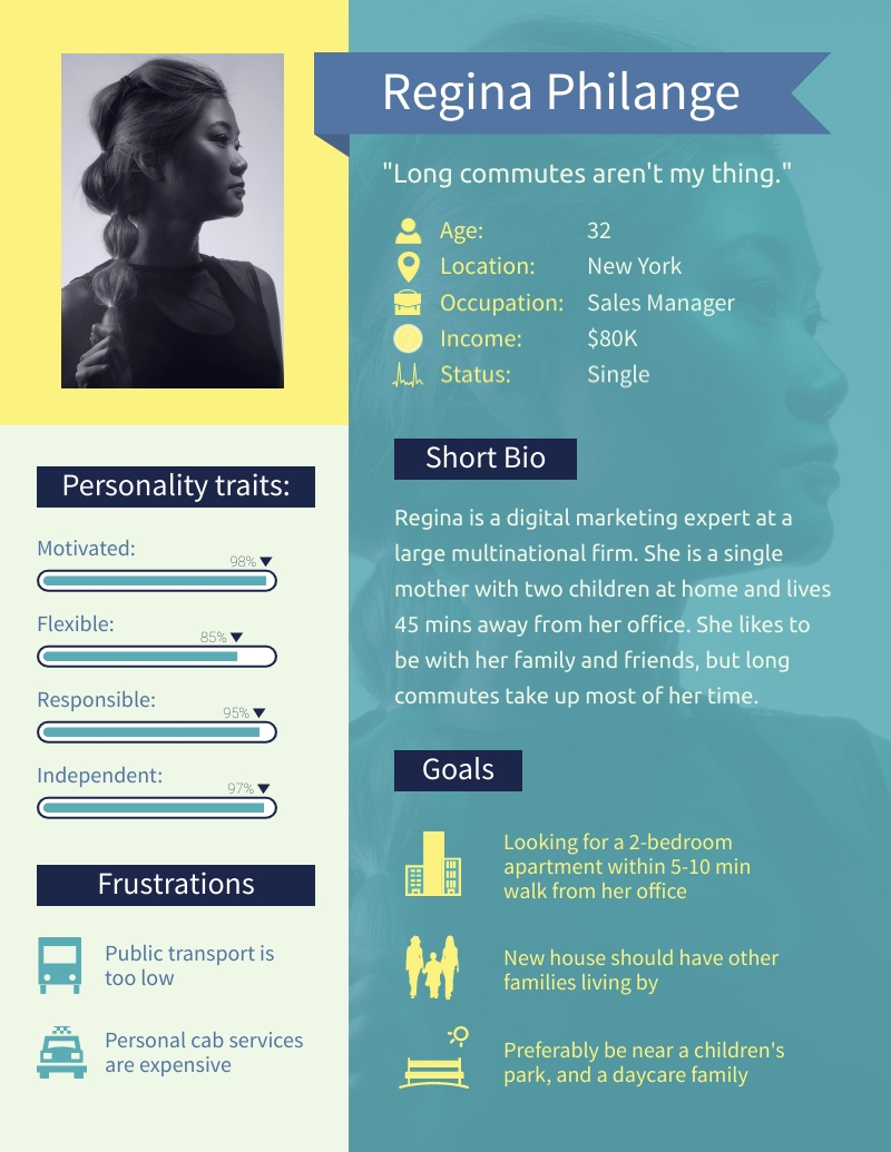 User Persona - Infographic Template