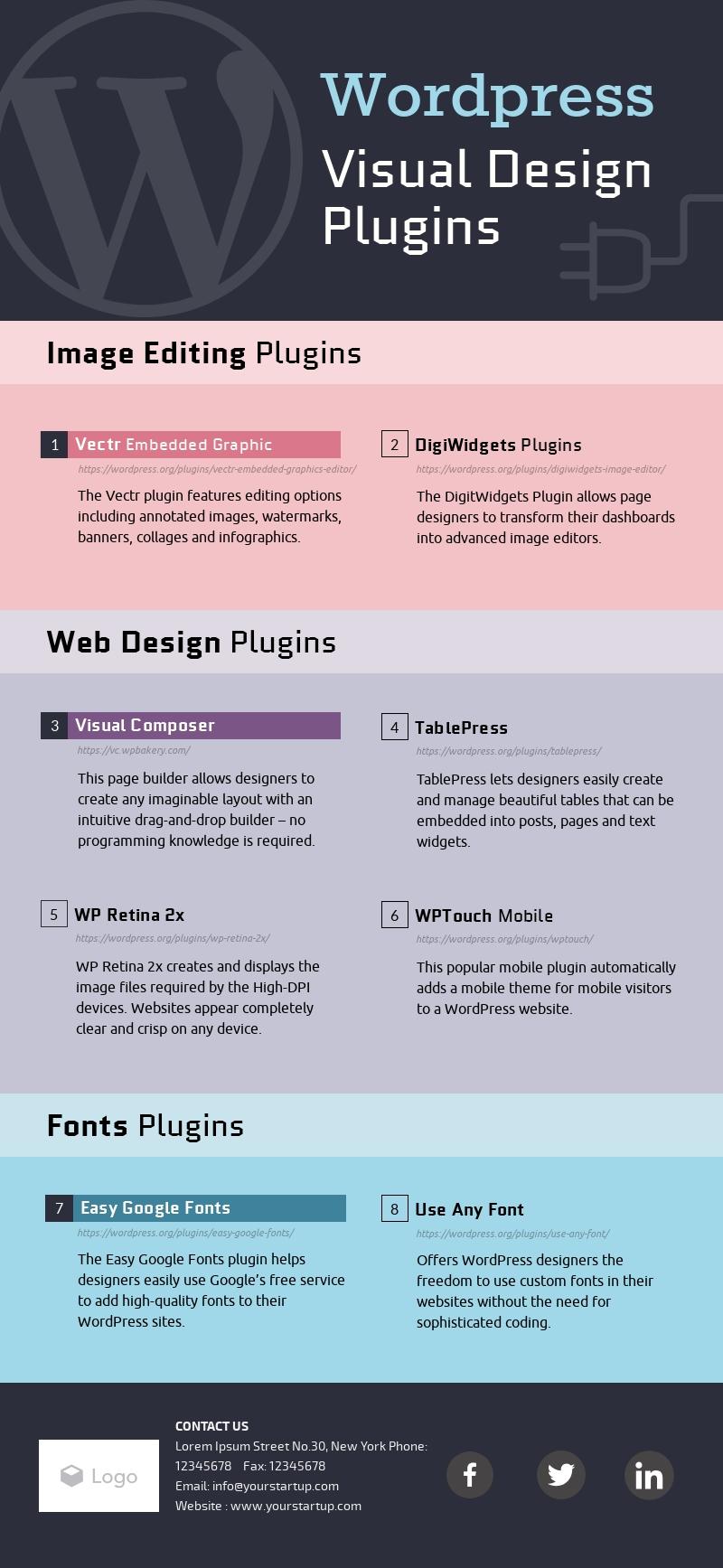 Visual Design Plugins - Infographic Template