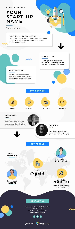 Company Profile - Infographic Template
