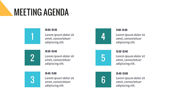 meeting agenda template template