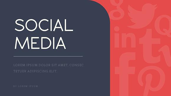 Social Media Report - Presentation Template