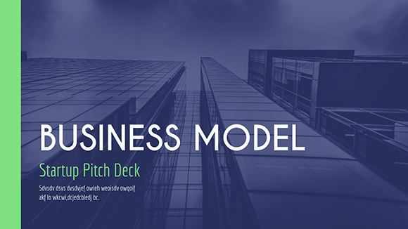 Startup pitch deck template flashek Image collections