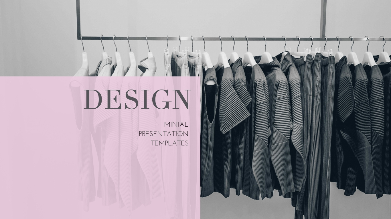 Fashion Design Presentation Template Visme