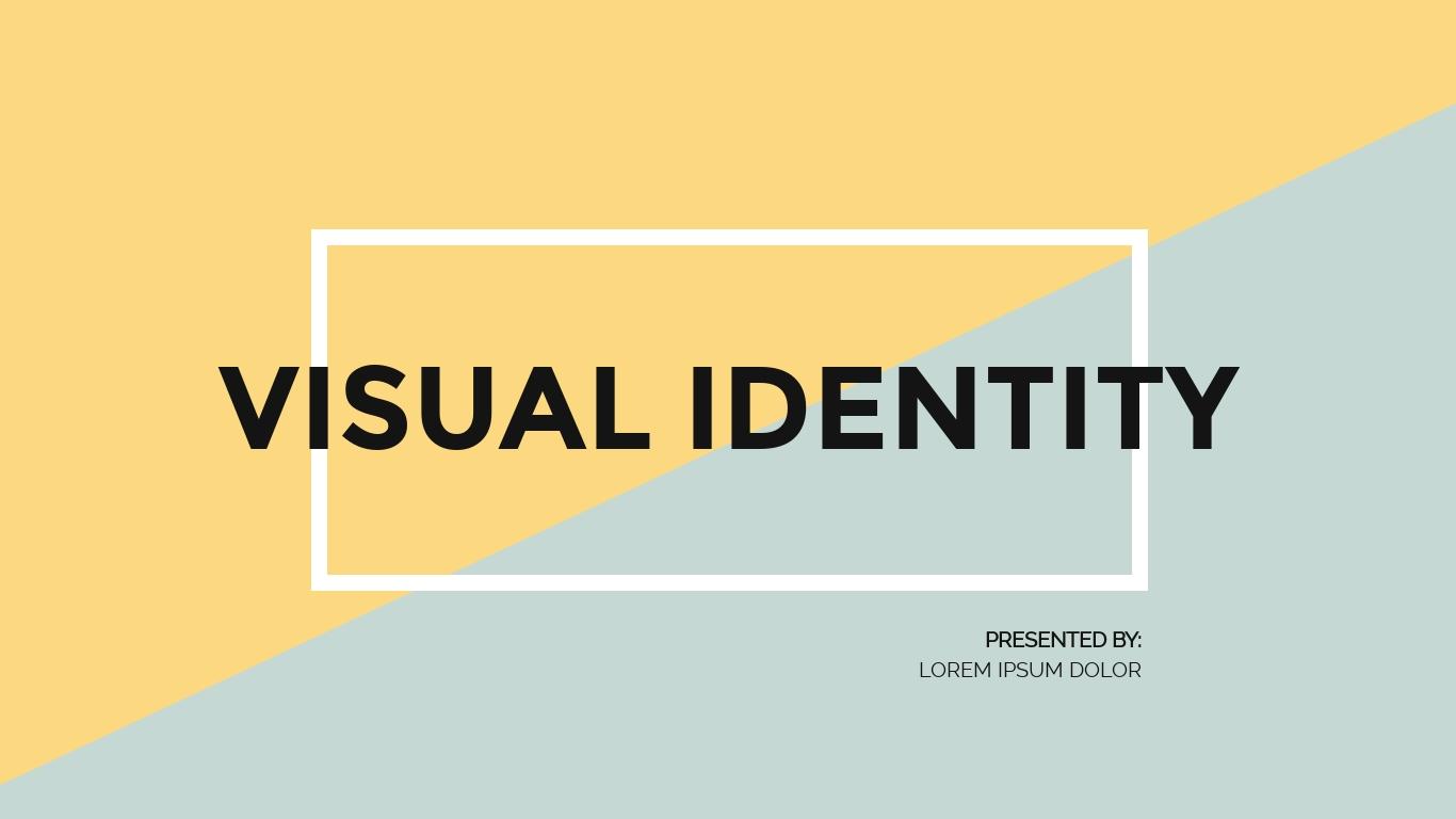 Brand Visual Identity - Presentation Template