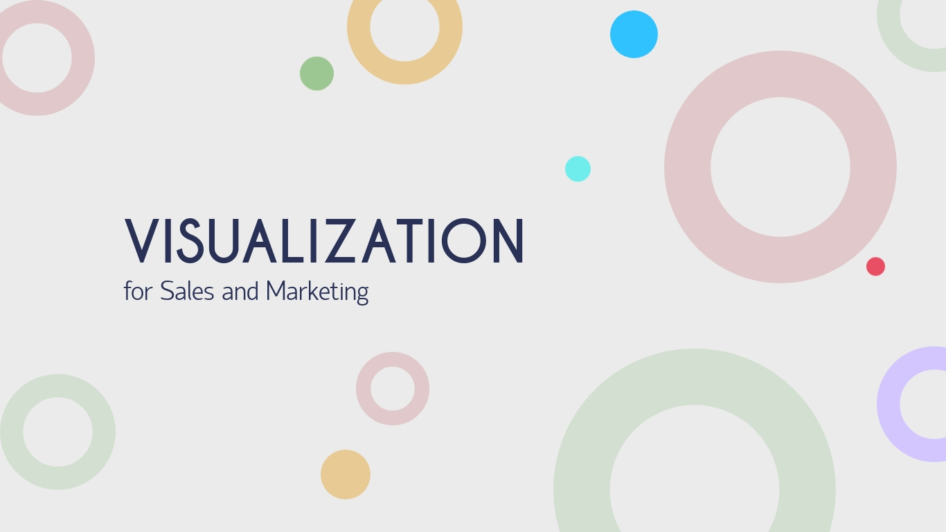 Visualization for Sales and Marketing - Presentation Template