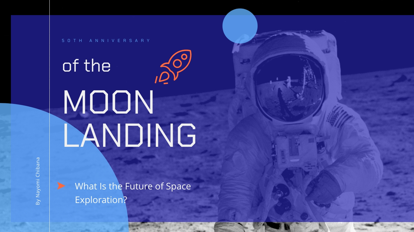 50 Years After the Moon Landing - Presentation Template